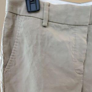 Elie Tahari Pants - Khaki Linen-Rayon Pants